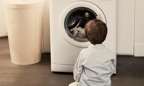 L'enfant et la machine à laver !